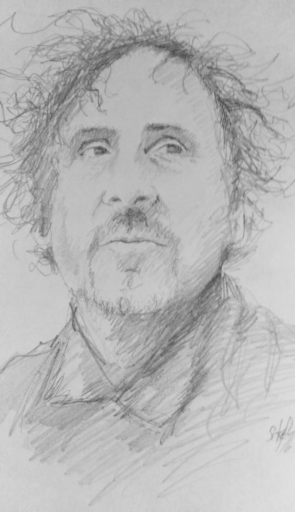 Tim Burton by stefart